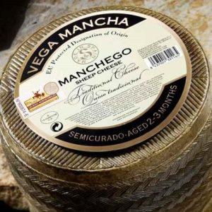 "MANCHEGO DOP ""SEMICURADO 2/3 MAAND"""