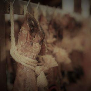 Gedroogde hammen & voorpoten